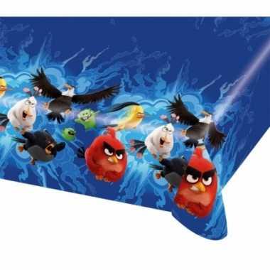 Plastic angry birds tafelkleed 120 x 180 cm