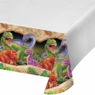 Plastic dinosaurus feest tafelkleed
