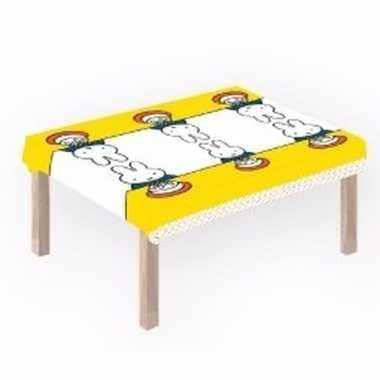 Plastic nijntje tafelkleed 180 x 120 cm