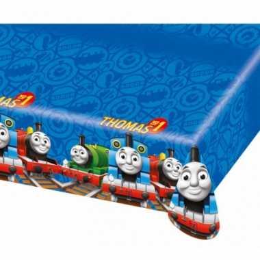 Plastic tafelkleed thomas de trein 120 x 180 cm