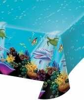 Plastic oceaan feest tafelkleed